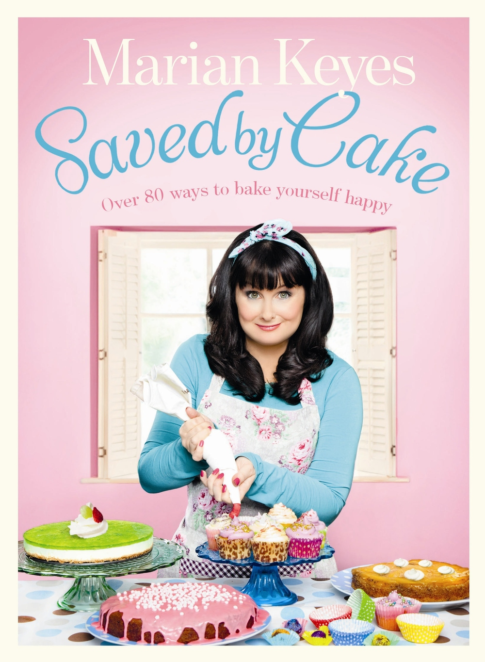 Saved by Cake - Marian Keyes Photography Alistair Richardson