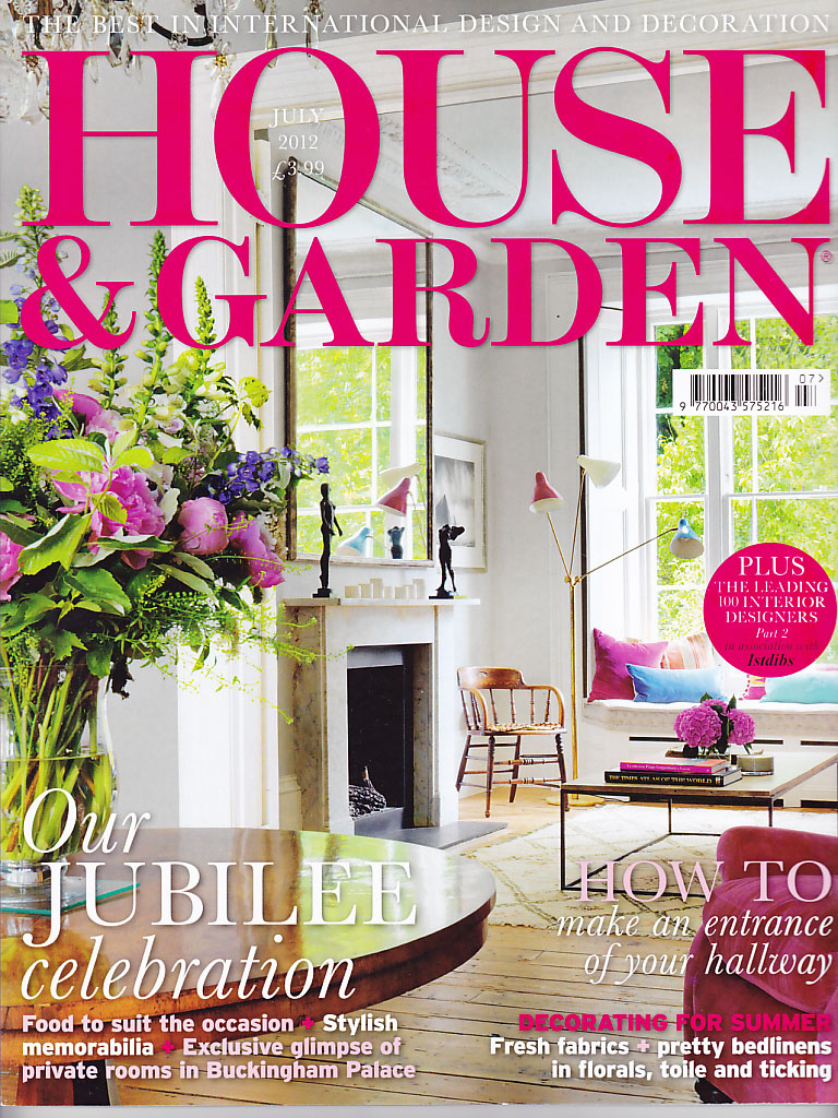 House & Garden cover July 2012