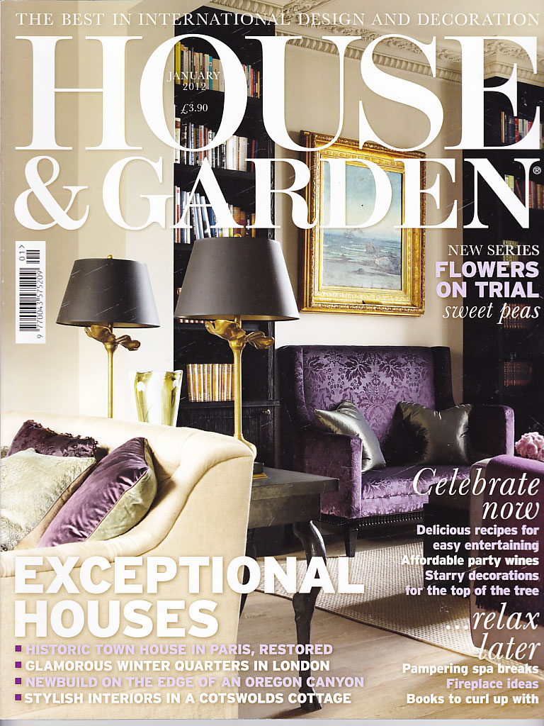 House & Garden cover Jan 2012