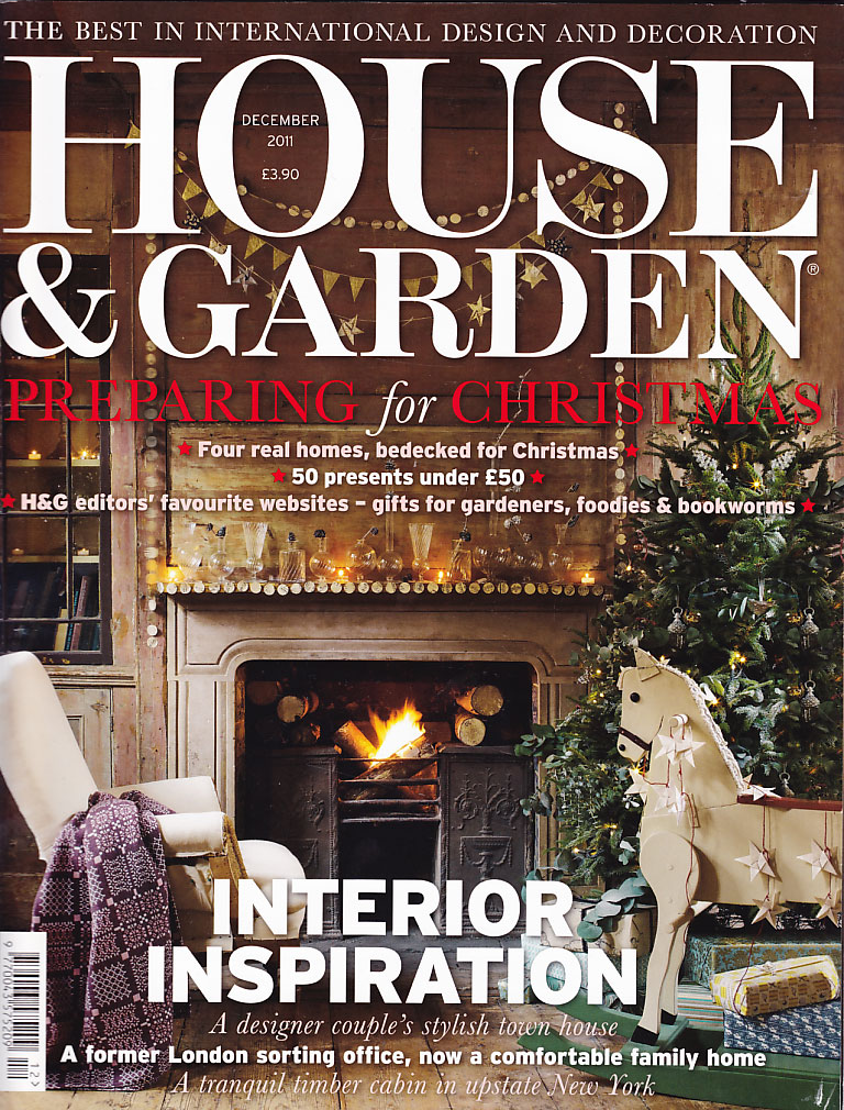 House & Garden cover Dec 2011