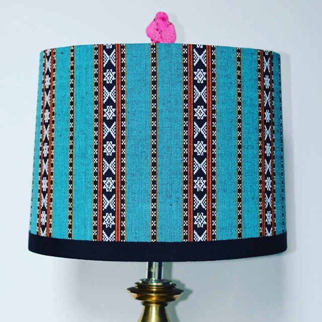 Make it pop with a finial by @hillarythomas #shoponline #lamp