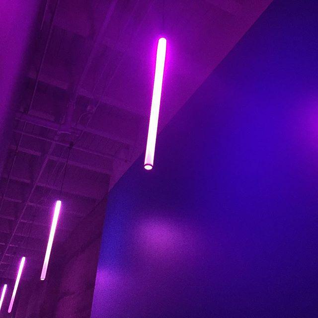 Little is more.... #neon #lights #glow #purple #pink