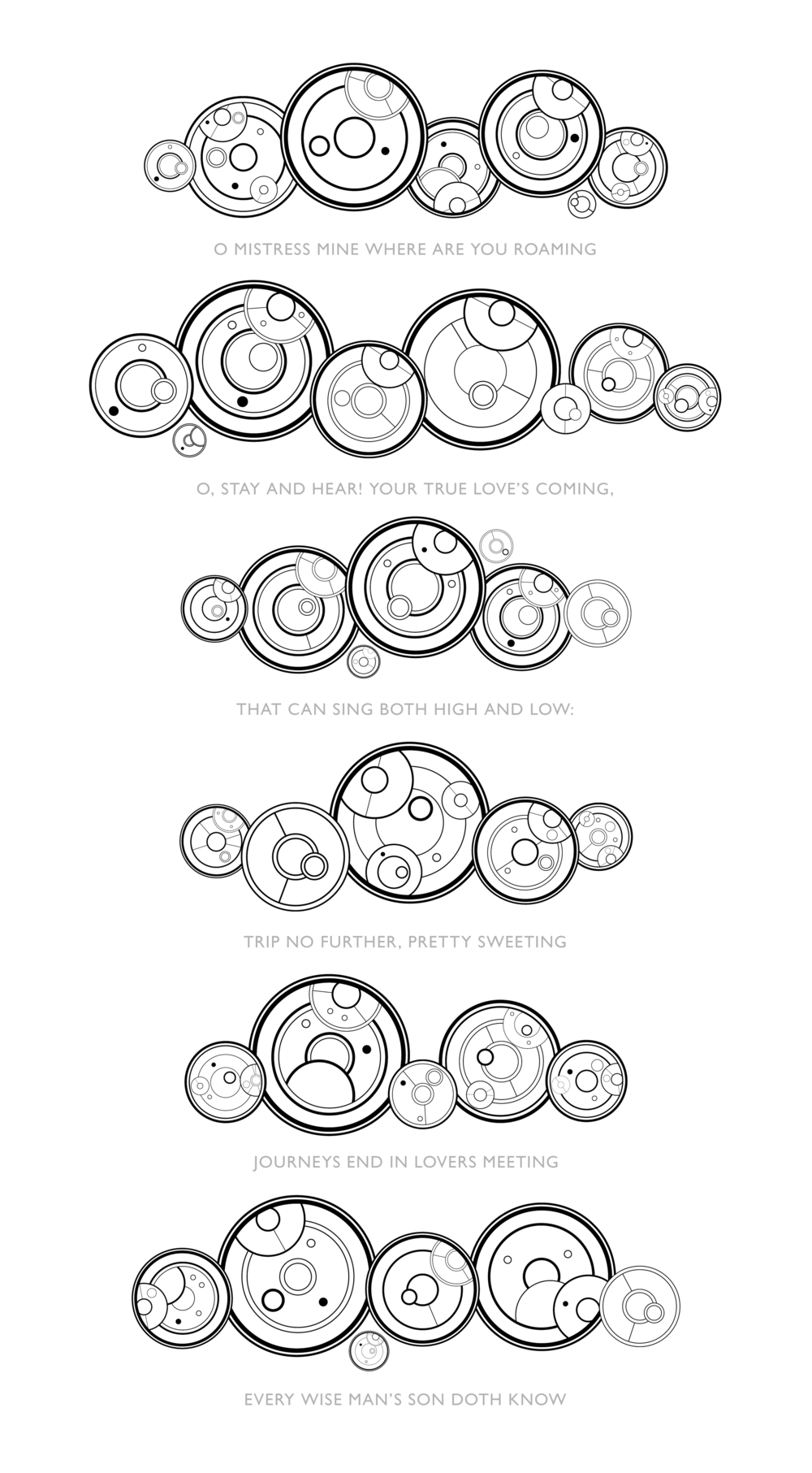 System Timeline — Doctor's Cot Gallifreyan