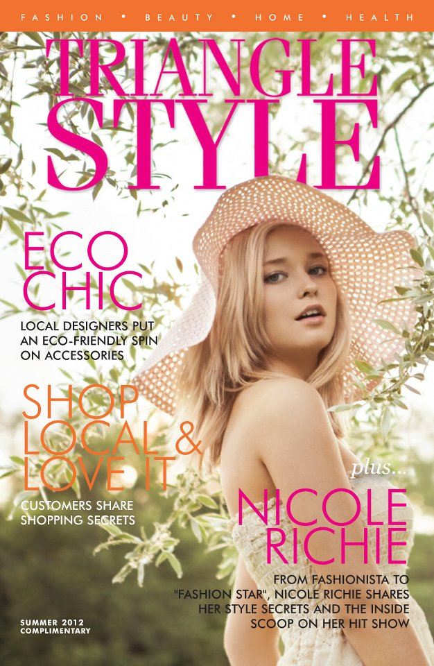 Eco Chic Accessories Summer 2012 Triangle Style