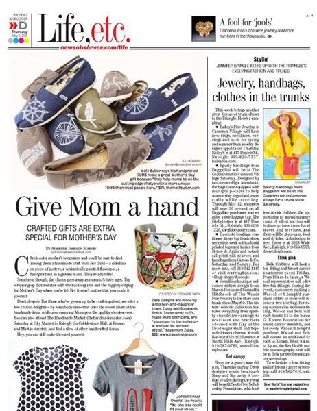Mother's Day 2013 Gift Guide  News & Observer