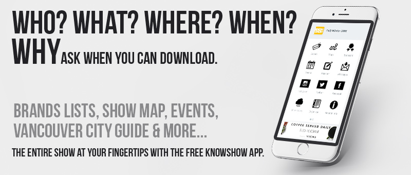 CONTACT INFORMATION FOR ALL BRANDS CAN BE FOUND IN THE KNOWSHOW APP