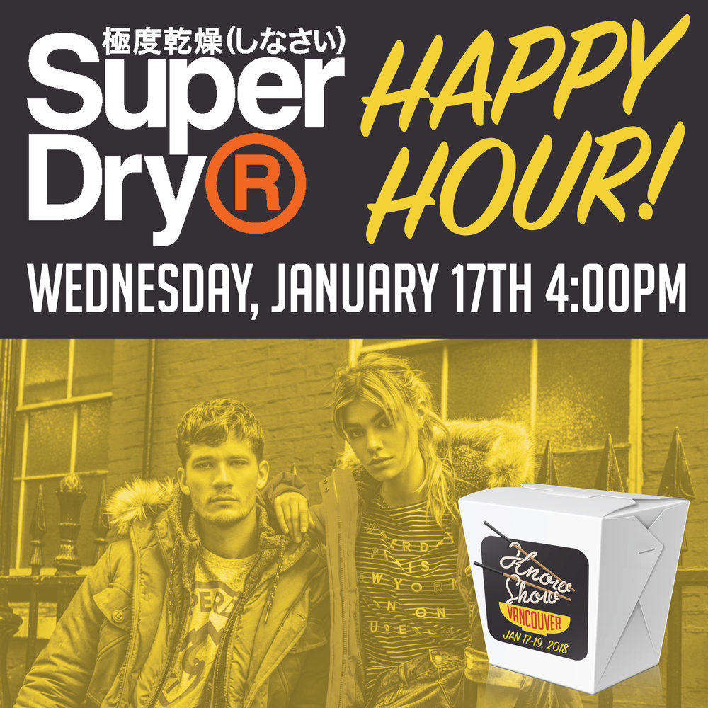 Superdry Happy Hour