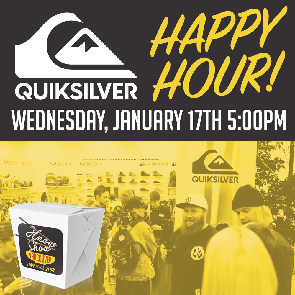 Quiksilver Happy Hour
