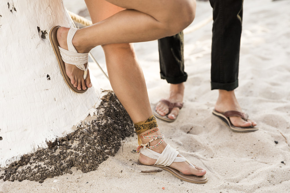 Founded by Southern California native Jeff Kelley,  Sanuk  provides creatively inspired yet distinctively designed flip flops and shoes for the global outdoor community. Taking its name from the Thai word for fun, Sanuk strives to make innovative products that are as much about funk as they are about function.