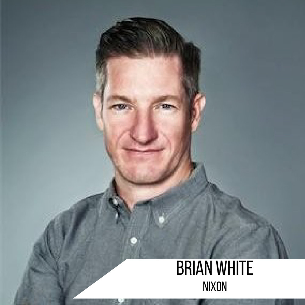 Brian White is a nationally awarded entrepreneur, with 17 years of Agency experience in Canada. Currently living in Cardiff, California, he leads Nixon Sales as VP of the Americas. Brian is an industry veteran fortunate to have worked with many top brands including Luxottica, K2, Nike / Hurley and Dakine. His specialties are Sales management, Brand positioning, Segmentation, Retail Marketing and above all customer experience.