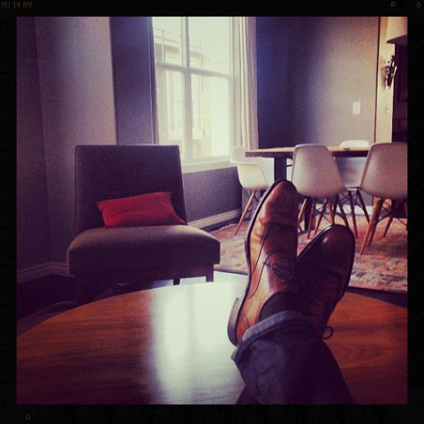 Tim's Feet