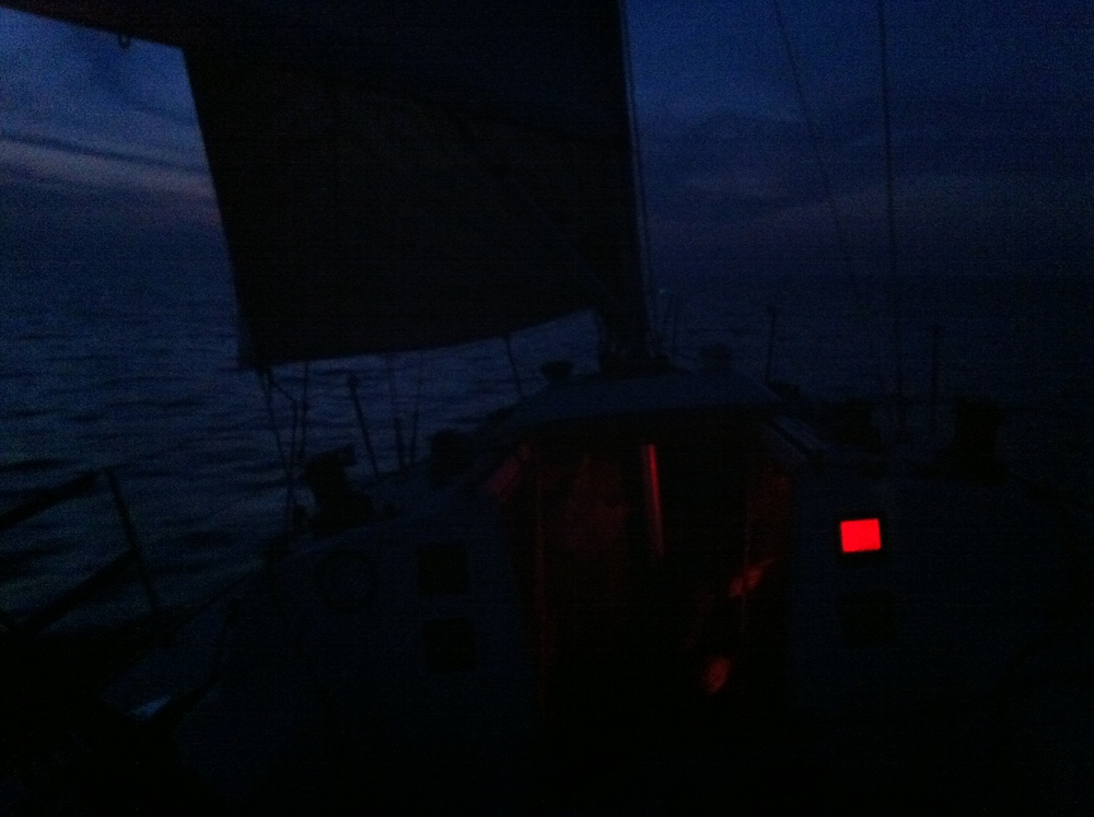 Friday night - 10 kts on the can