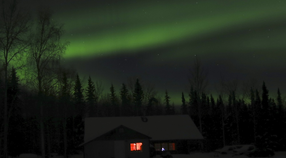 Backyard Northern Lights