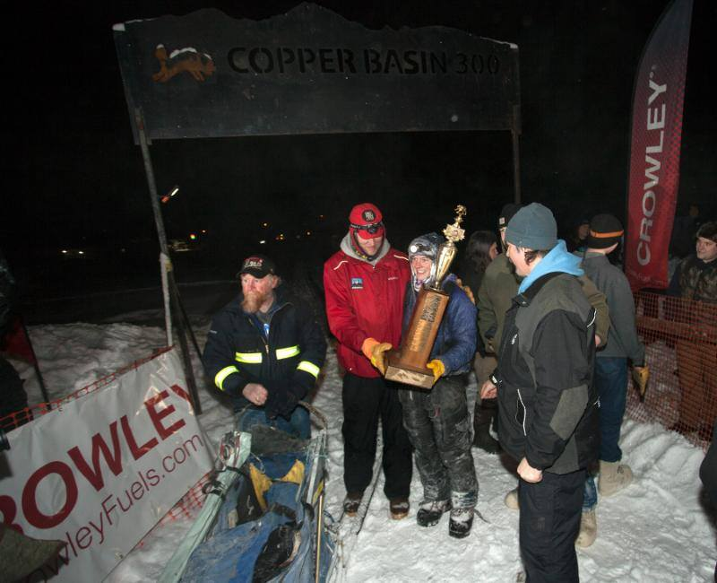 Photos: thanks to Rob Stapleton for photos posted on Copper Basin 300 Sled Dog Race facebook page