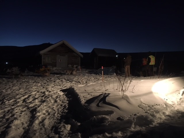 Ryno Kennel arriving at Milepost 101 checkpoint 7:48 Sunday morning. There is a video here:   https://www.facebook.com/YukonQuest/videos/10156124415699490/