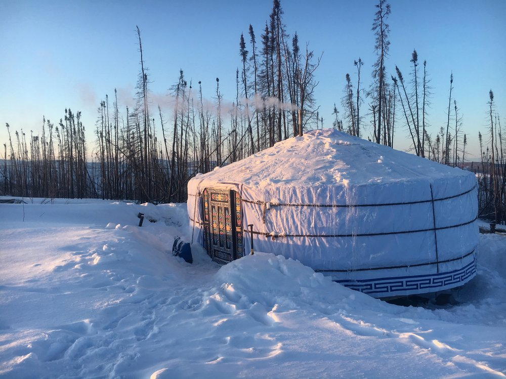 A night in the Mongolian Yurt