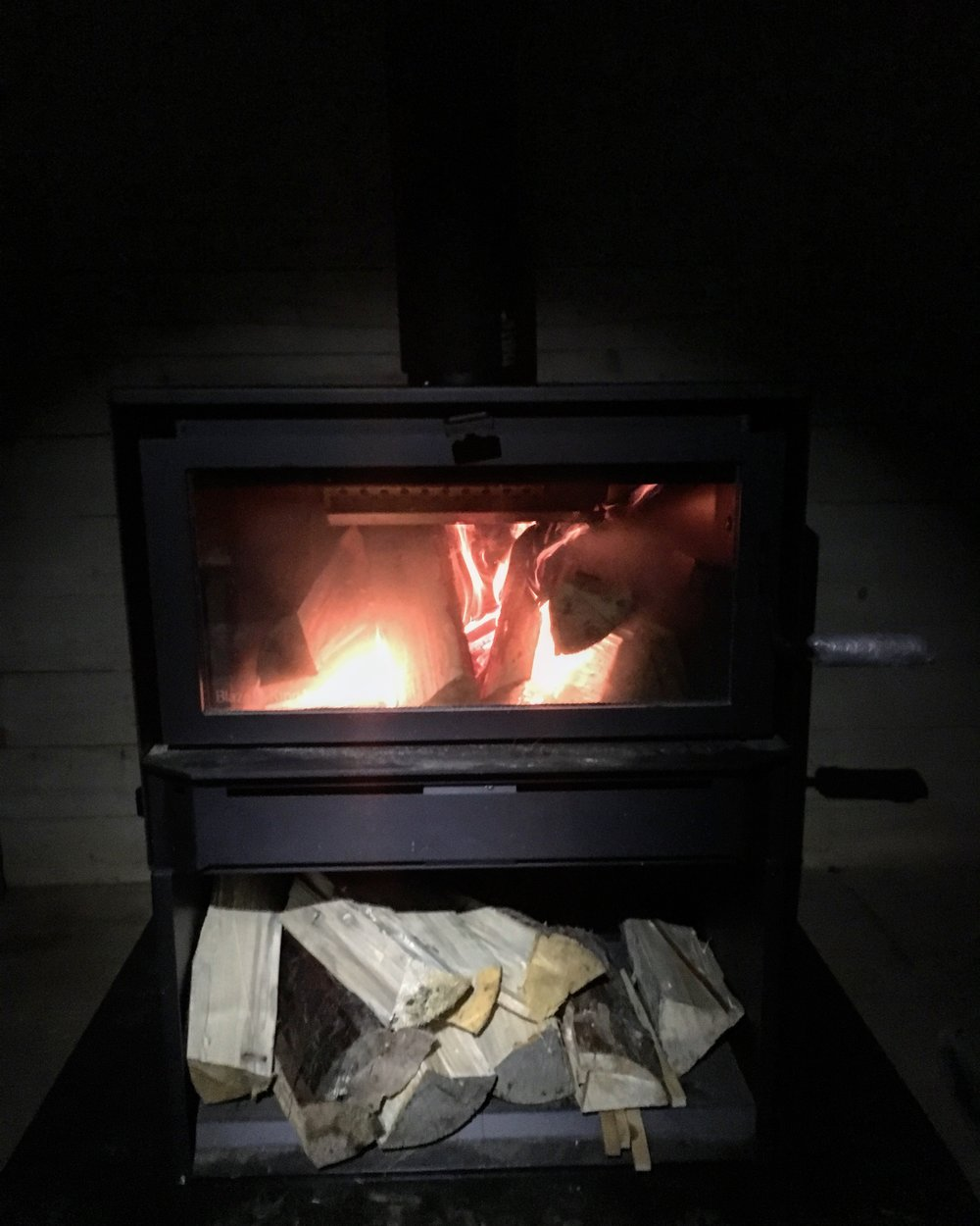 The Wood Stove!