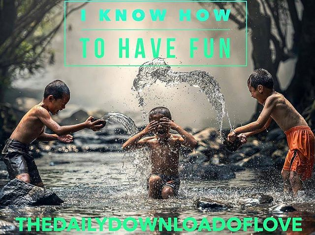 As I was saying on instalive  @thedailydownloadoflove ・・・ We adults sometimes confuse responsibility and being a grown up with having to wear our serious pants 🤔👖 all the time Here's a reminder for my fellow adulters out there around the world to just let yourself have some fun. How can you have fun if you don't know how? Maybe it feels like it's been too long and you forgot...maybe you got scolded as a kid for having too much fun, maybe you're afraid if you're having fun you're going to forget something REALLY important that you have to do. Trust me on this one, it's not that important. Say yes to receive the download I KNOW HOW TO HAVE FUN 😜🤓😆🤡🤠 #thedailydownloadoflove #fun #grownup #serious #adulting #play #thetaschoolofmagic #theta #justsayyes #shamandurek