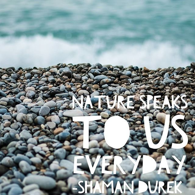 When your surrounded by nature you are better. Take a deep breath then release it slowly to life. Feel it in your finger tips and when you move your body. The flow is there the spirit is speaking what is it saying to you.? Nature always speaks. #rememberthat #shamandurek