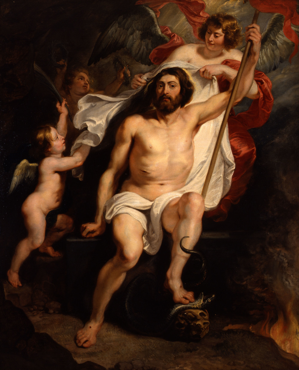 Christ Triumphant over Sin & Death , Peter Paul Rubens (& Workshop). Columbus Museum of Art