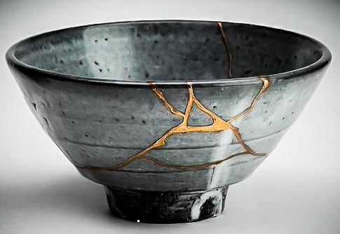 An Example of Kintsugi art