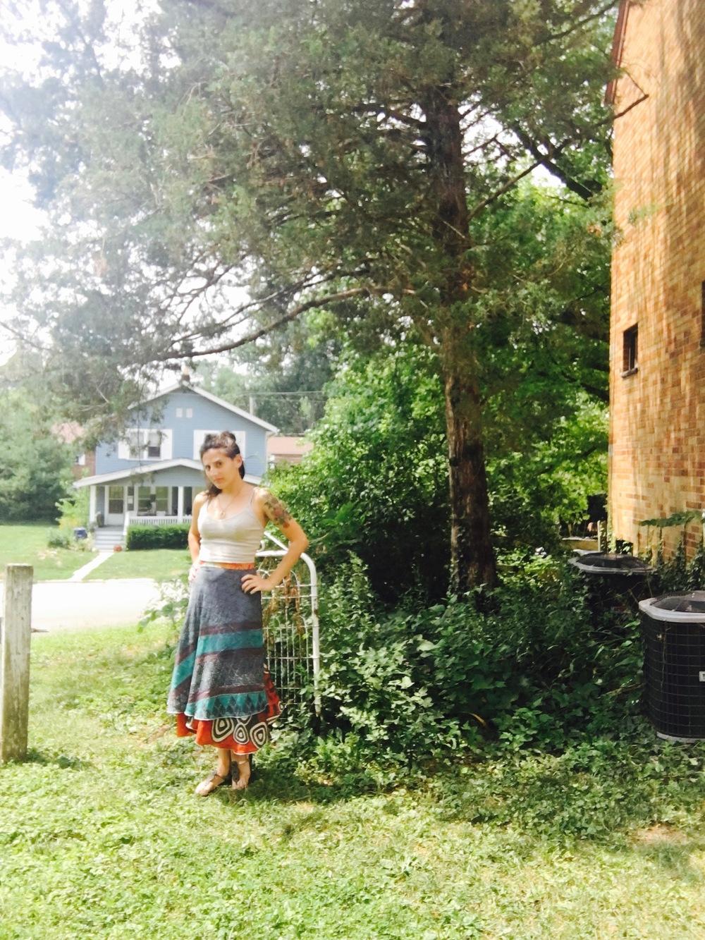 secret-garden-blue-skirt-ootd-reverse-skirt