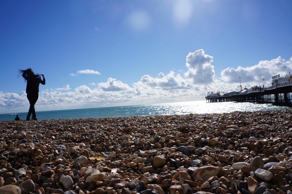 brighton-beach-england-blue-sky