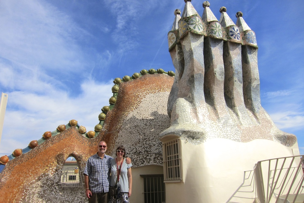 Lisa and Rex at Casa Batilo