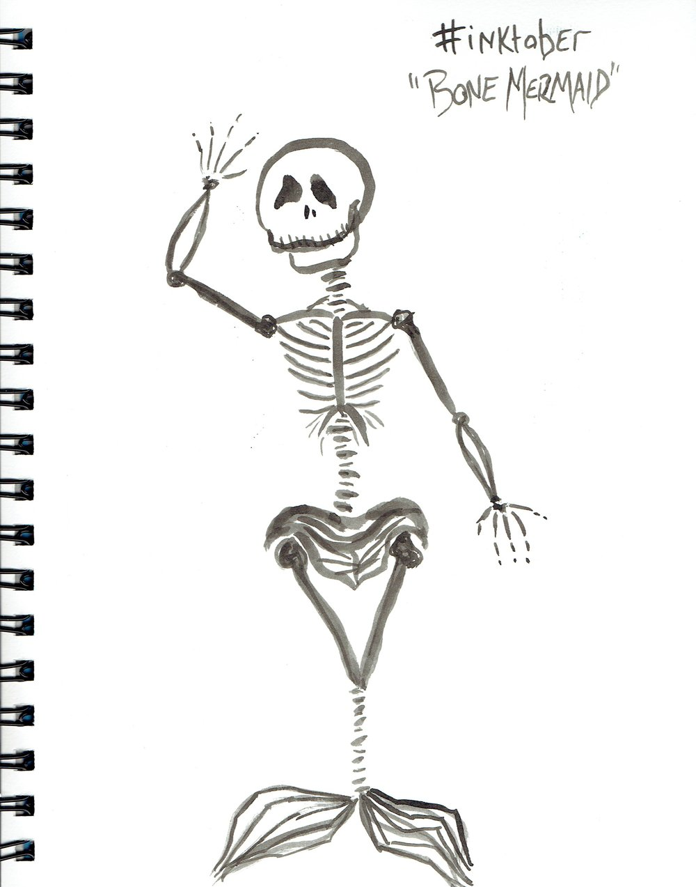 "10/3-2 ""Bone Mermaid"""