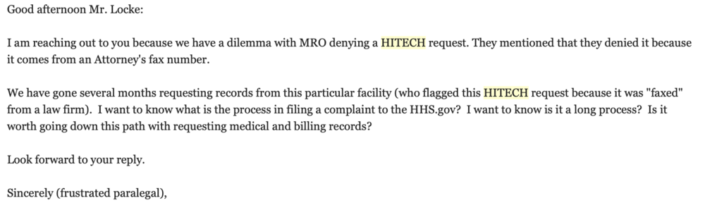 hitech act getting medical records for cheap georgia personal