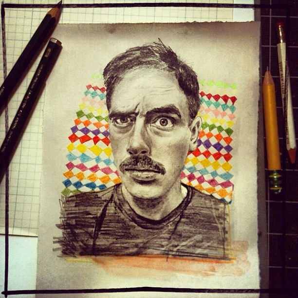Movember  is almost upon us.  Make a donation  of at least £40 (about $64), and I'll draw a  portrait of you or another person of your choosing  (with the addition of a fabulously hirsute upper lip, of course).    Find out more at  The Gallery Of Mo.