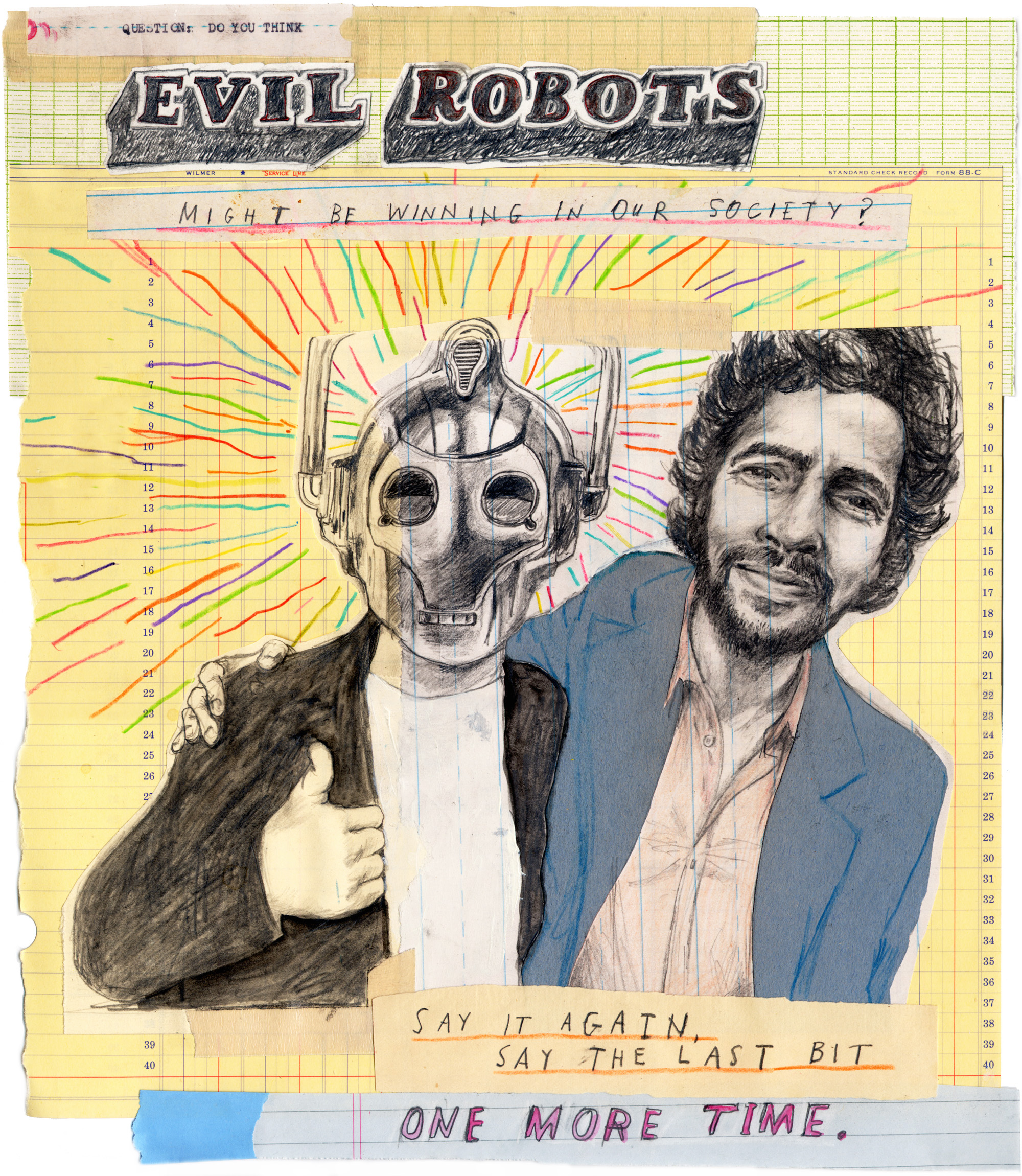 Wayne Coyne and Evil Robot