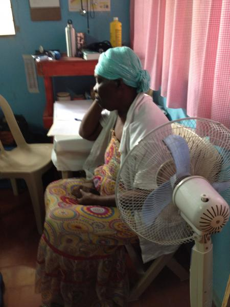 Haiti Diabetes Camp - Patient Waiting.JPG