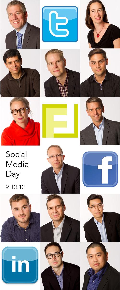 Social media headshots.