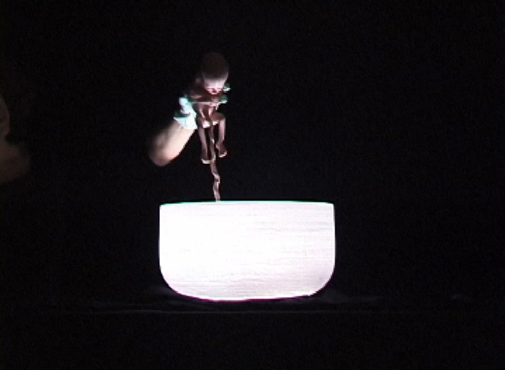Crystal Bowl Birth (video still)