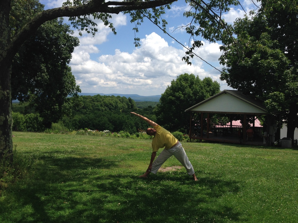 Photo from Sivananda Yoga Ranch Woodbourne NY
