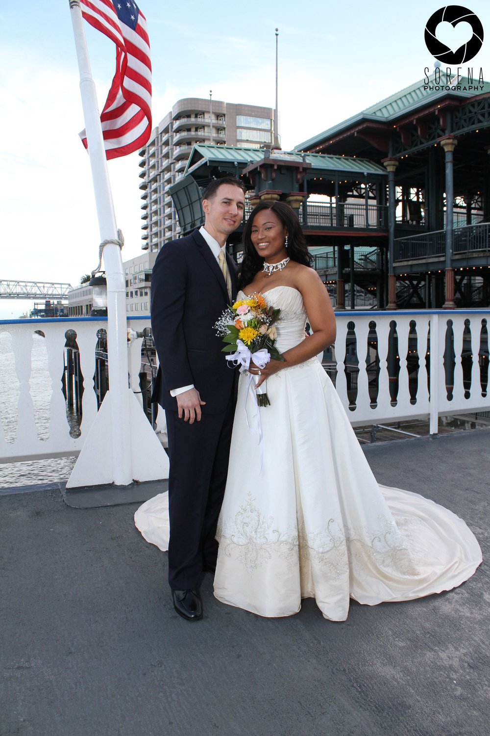 cajun queen wedding River boat wedding