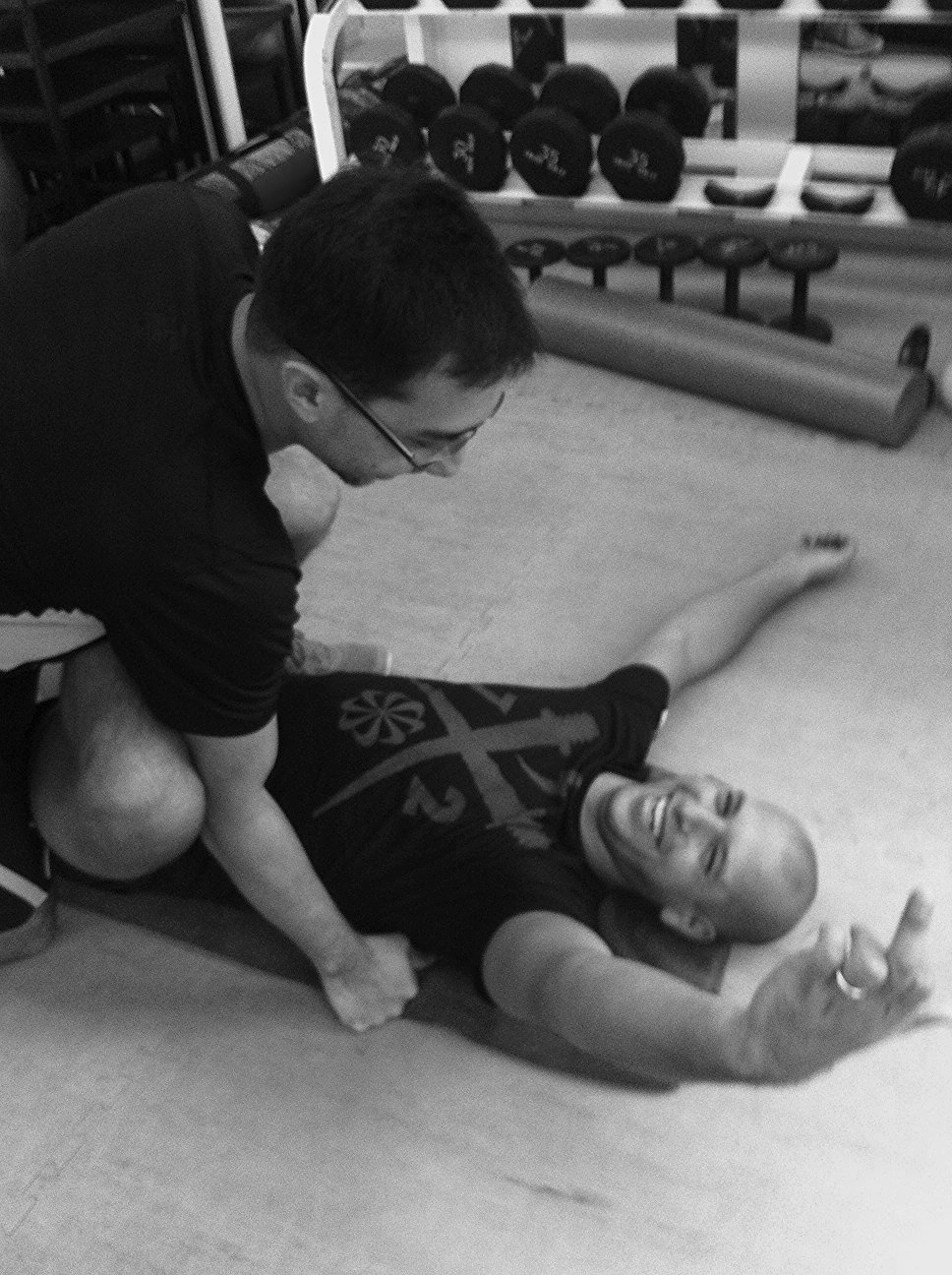 Personal trainers Singapore, Carl Jan De Vries, Stretching, IFC Personal training.jpg