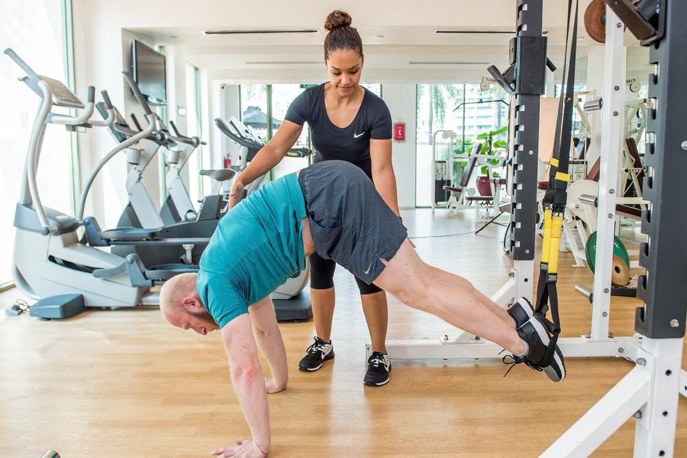 IFC-Wellness Personal Training Nat & Roddy TRX Pike