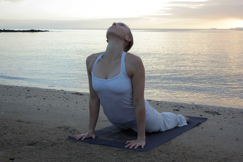 Yoga Auckland_Golden Yogi_Takapuna Beach Sunrise Yoga ~ April 2013