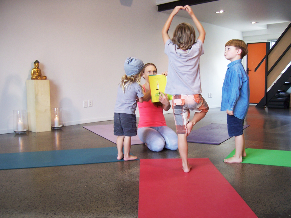 Yoga Auckland_Golden Yogi_Kids Yoga Tree's