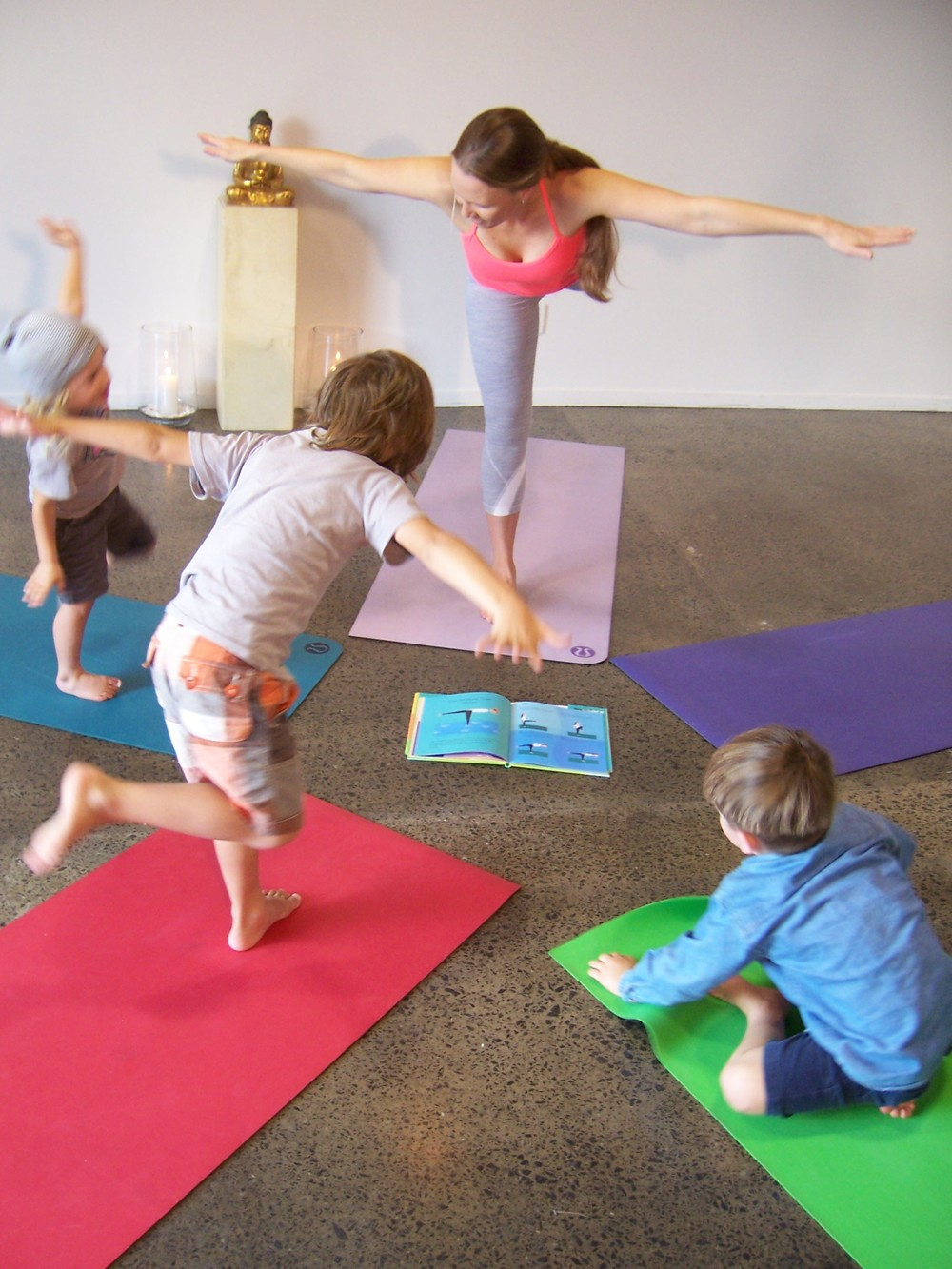 Yoga Auckland_Golden Yogi_Kids Yoga Planes
