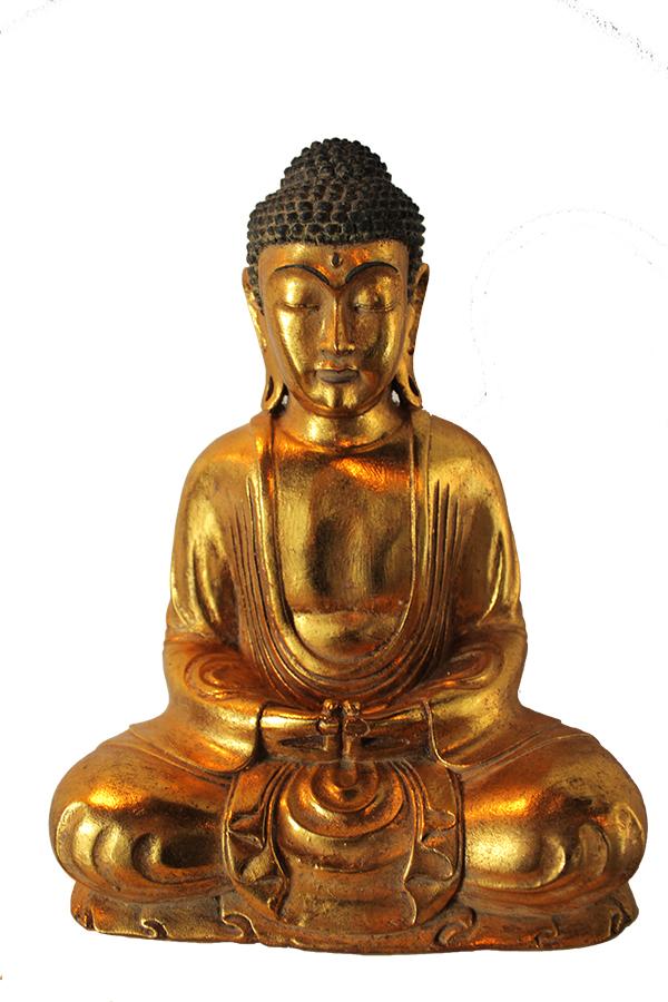 Golden Yogi Buddha Statue