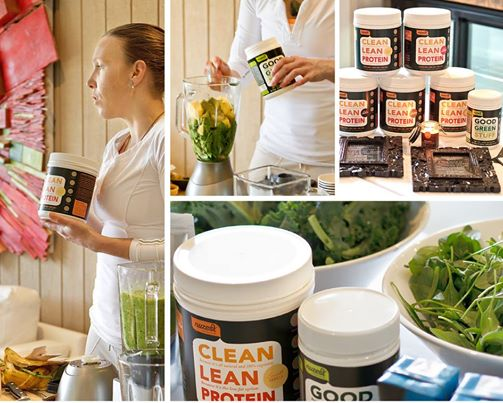 NuZest Green Smoothie presentation by Erin O'Hara