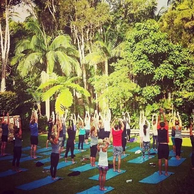 lululemon athletica ambassador summit Byron Bay retreat