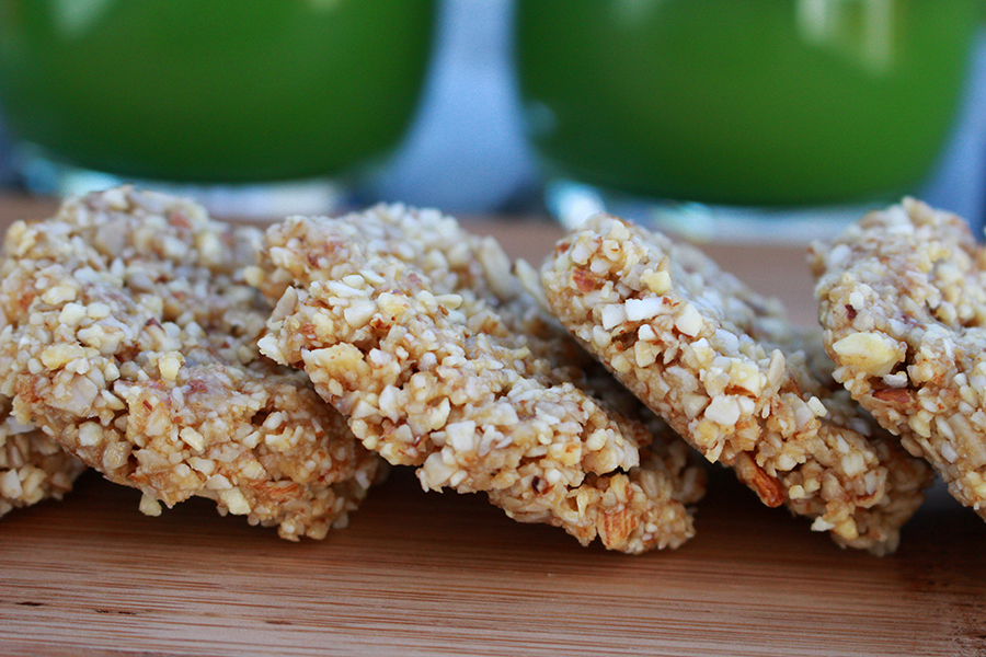 Raw Anzac Day Cookies With Nuts and Seeds by Golden Yogi Naturopath Erin O'Hara