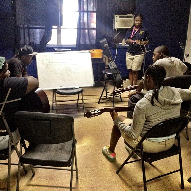 It's Wednesday, sooo we're down at the Baton Rouge Dream Center giving guitar lessons. These kids are coming along pretty awesome! (Taken with  Instagram  at Baton Rouge Dream Center)