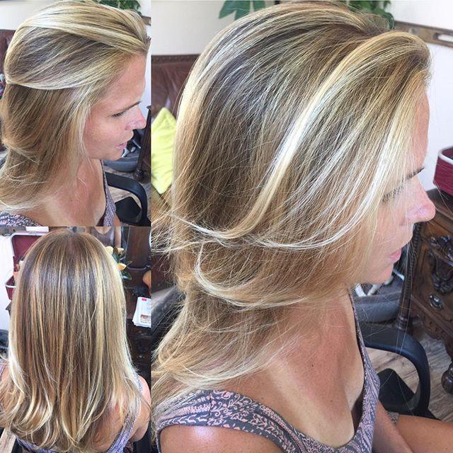 Gorgeous #balayage #beachy #hair #hairsalon #blonde #topanga #hairsalon #lahair