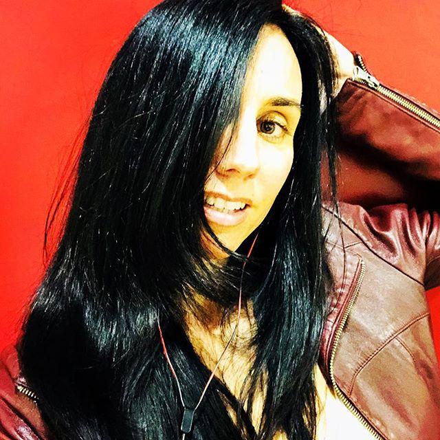 This gorgeous girl! @drsaidadesilets #topanga #hair #siren #haircolor #haircut #darkhair #losangeles #salon