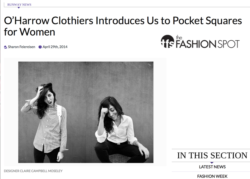 http://www.thefashionspot.com/runway-news/392919-oharrow-clothiers-introduces-us-to-the-art-of-pocket-squares-for-women/
